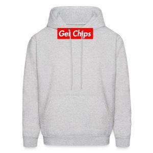 Get Chips Grey - Men's Hoodie