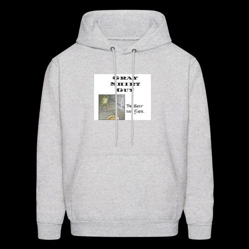 Official gray shirt guys shirt - Men's Hoodie