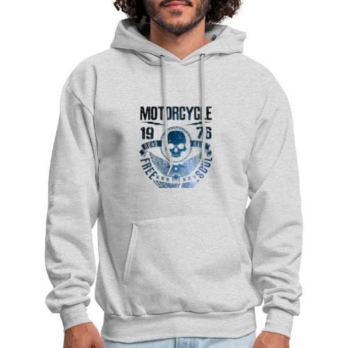 T-shirt of a motorcycle. - Men's Hoodie