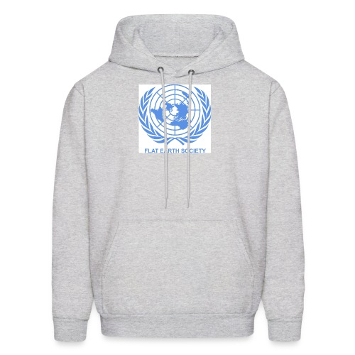 Flat Earth Society - Men's Hoodie