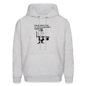 Magician Condom Shirt - Men's Hoodie