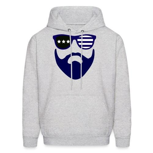 Blue beard-beard gang - Men's Hoodie