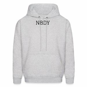 NBDY LOGO - Men's Hoodie
