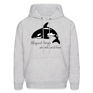 End Captivity - Men's Hoodie
