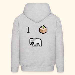 I voted Republican - Men's Hoodie