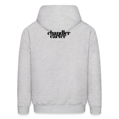 Chandler Carter Logo - Black - Men's Hoodie
