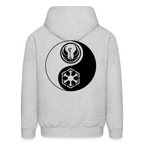 Star Wars SWTOR Yin Yang 1-Color Dark - Men's Hoodie