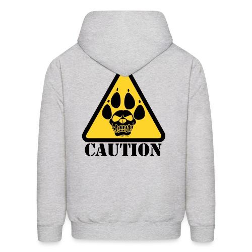 CAUTION - Men's Hoodie