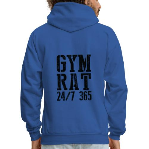 Gym Rat - Men's Hoodie