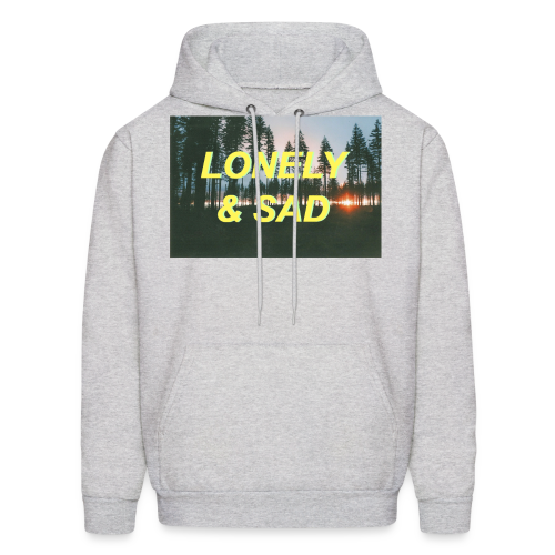 Yellow/Green Forest - Men's Hoodie