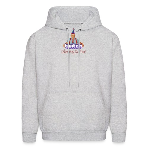 Celebrating One Year of Twitch! - Men's Hoodie