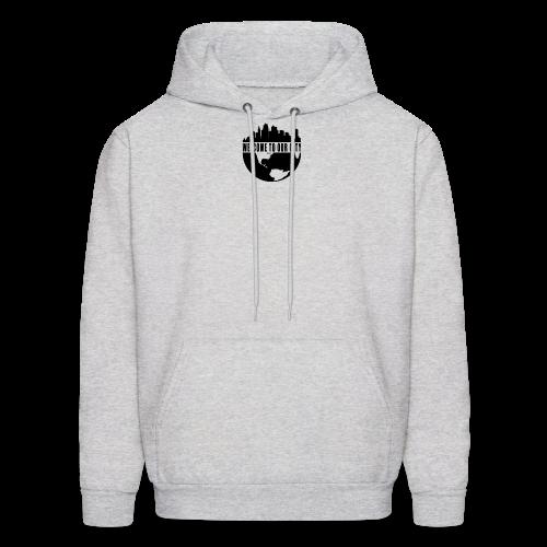 WTOC Logo Black - Men's Hoodie