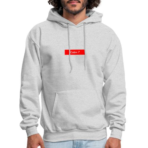 Cabin 7 red box small - Men's Hoodie