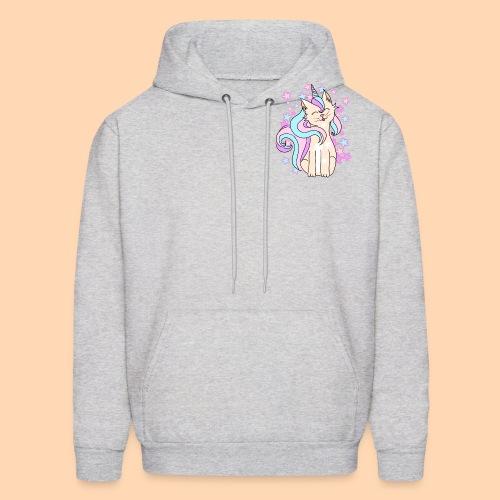 cat-unicorn - Men's Hoodie