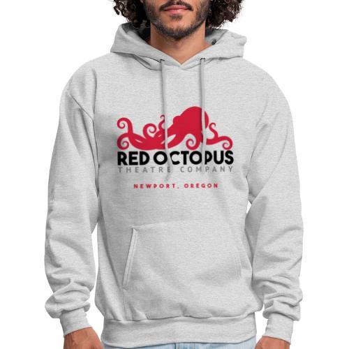 Red Octopus Faster, Funnier, Louder - Men's Hoodie