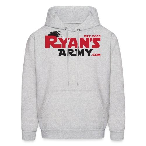 ryans army logo10 - Men's Hoodie