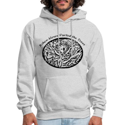 Moses Parted Trees Black - Men's Hoodie