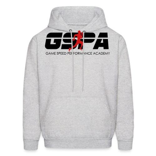 new gspa logo word 6inch - Men's Hoodie