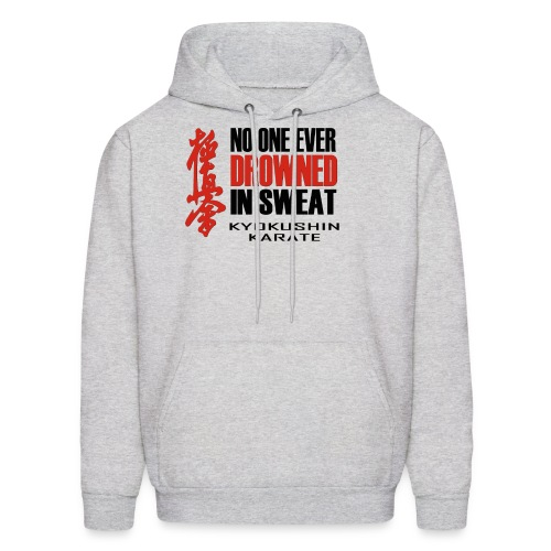 No One Ever - Black&Red - Men's Hoodie