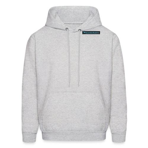 logoBlackWix - Men's Hoodie