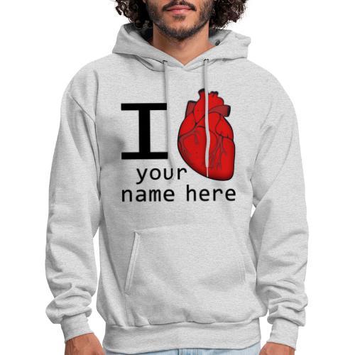 Human Heart - Men's Hoodie