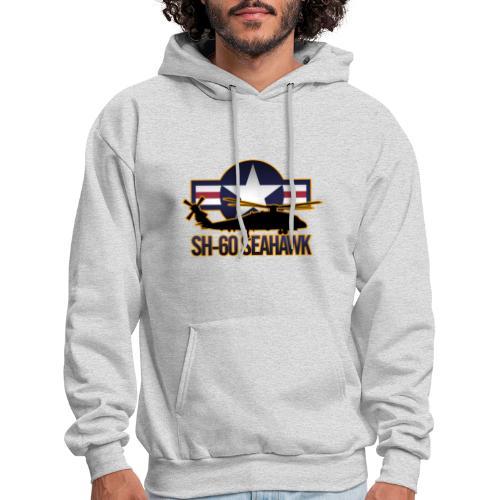 SH 60 sil jeffhobrath MUG - Men's Hoodie