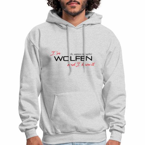 Wolfen Attitude on Light - Men's Hoodie