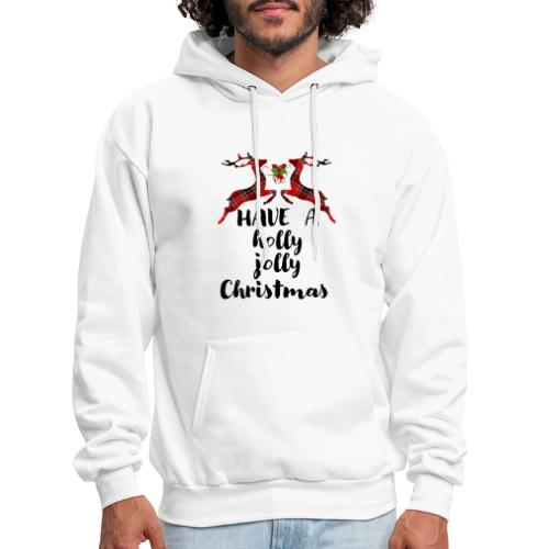 Holly Jolly Christmas - Men's Hoodie