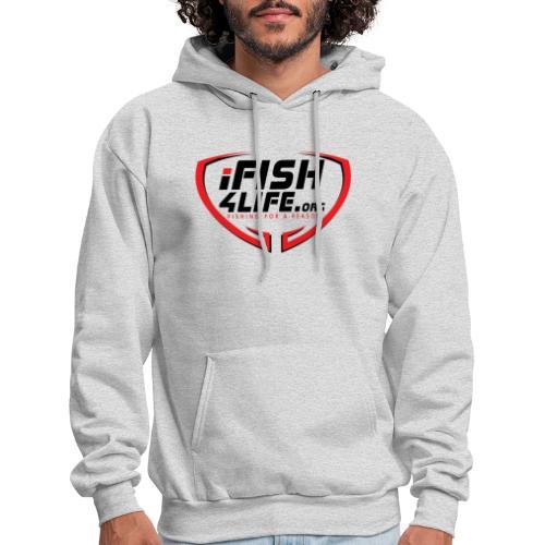 iFish4Life.org - Men's Hoodie