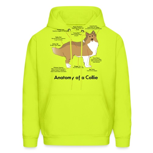 Anatomy of a Collie - Men's Hoodie