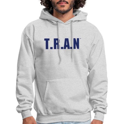 TRAN blue png - Men's Hoodie