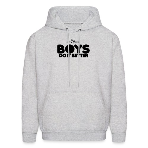 2020 Boys Do It Better 01 Plain 87 - Men's Hoodie