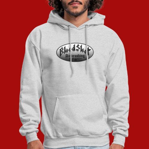 BloodShot Logo Black/White - Men's Hoodie