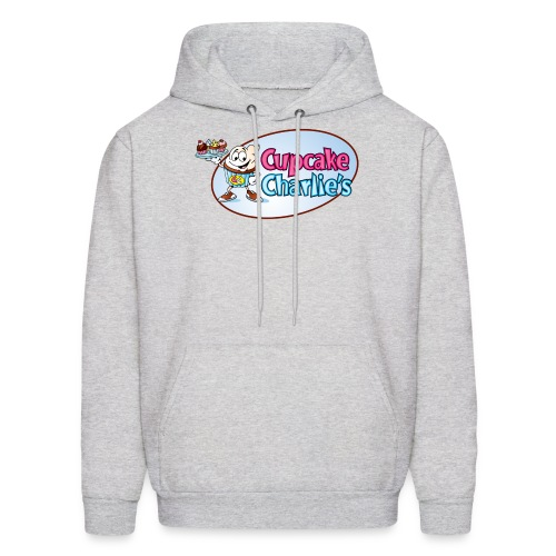 Cupcake Charlie s Logo - Men's Hoodie