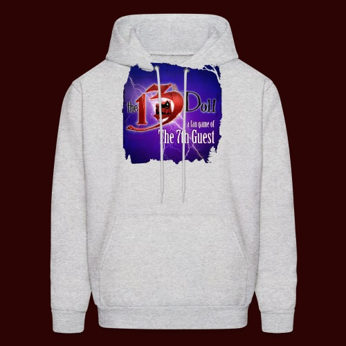 The 13th Doll Logo With Lightning - Men's Hoodie