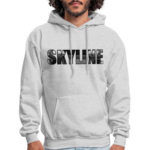 SKYLINE Front - Men's Hoodie