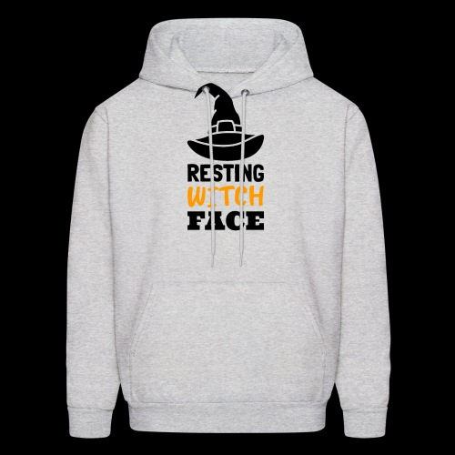 Resting Witch Face | Funny Halloween - Men's Hoodie