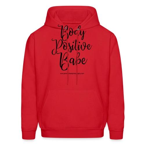 Body Positive Babe 1 - Men's Hoodie