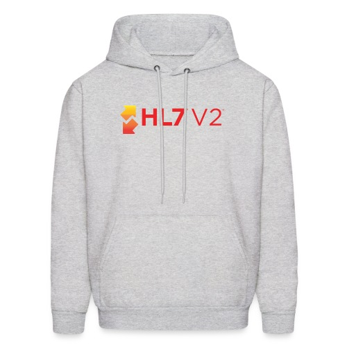 HL7 Version 2 Logo - Men's Hoodie
