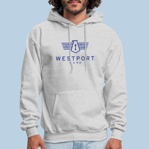Westport Band Blue on transparent - Men's Hoodie