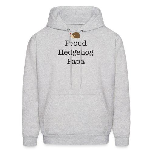 Proud Hedgehog Papa - Men's Hoodie