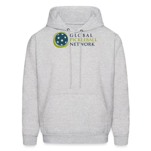Global Pickleball Network on White - Men's Hoodie