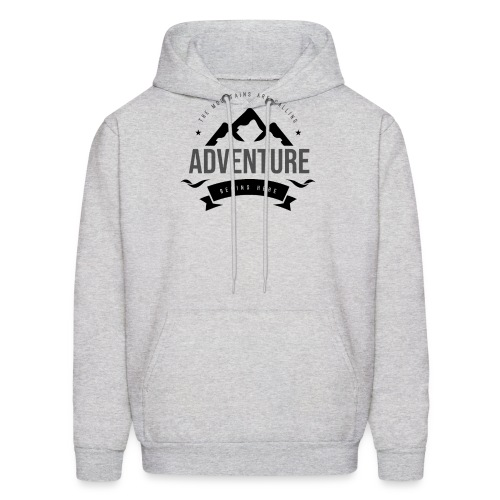 The mountains are calling T-shirt - Men's Hoodie