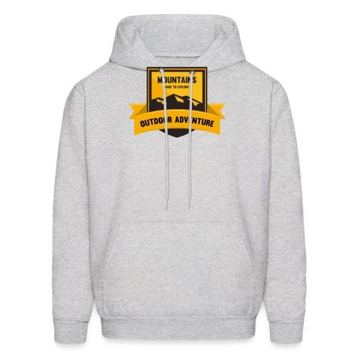Mountains Dare to explore T-shirt - Men's Hoodie