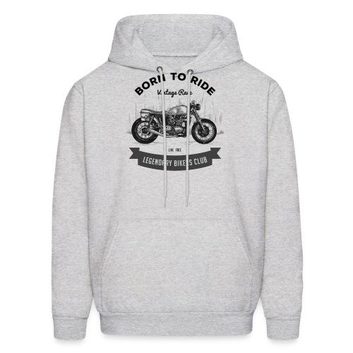 Born to ride Vintage Race T-shirt - Men's Hoodie