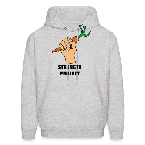 strength carrot - Men's Hoodie