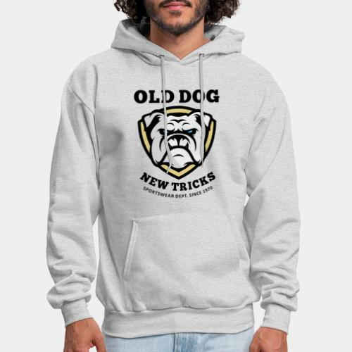 old dog new tricks - Men's Hoodie