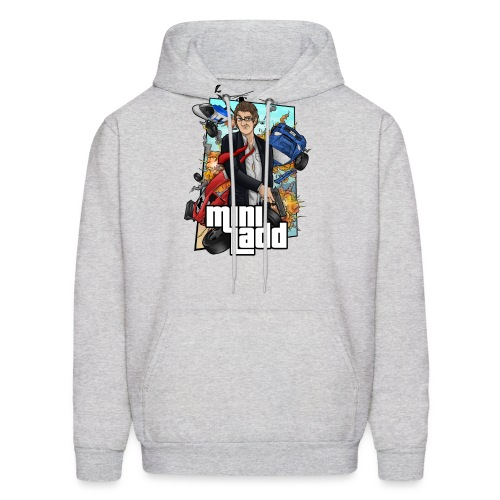 GTA Illustration png - Men's Hoodie