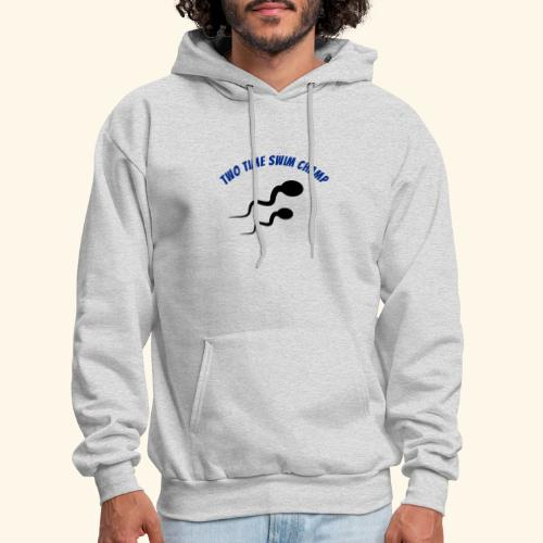 Adult Fathers day swim champ - Men's Hoodie