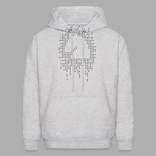 Knight and Dots Inverted png - Men's Hoodie